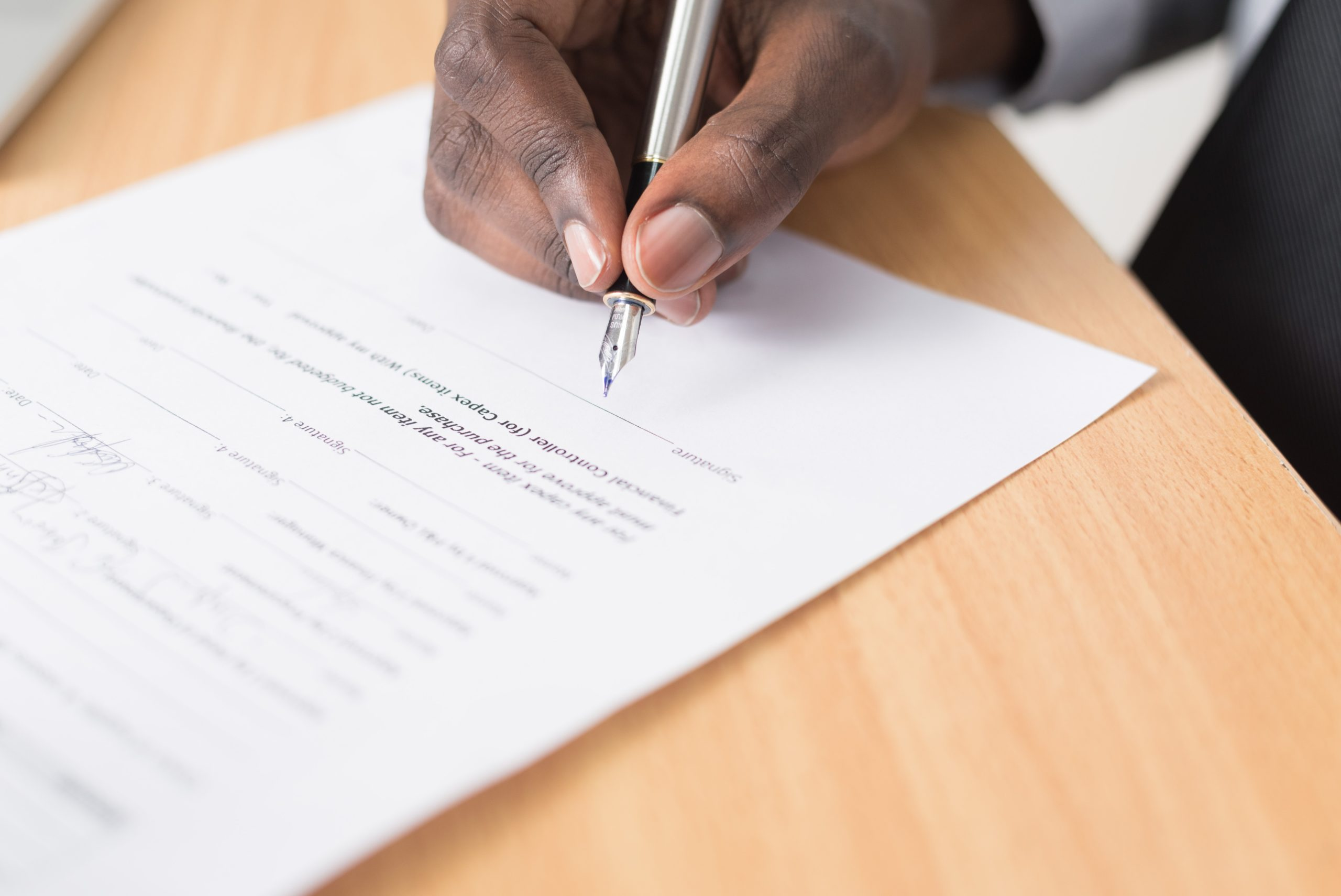 Deal management process